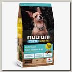 Сухой для щенков и взрослых собак маленьких и миниатюрных пород Nutram GF SB Salmon & Trout Dog Food беззерновой питание из мяса семги и форели