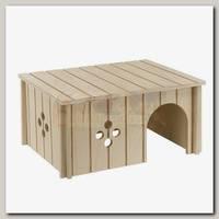 Домик для кроликов Ferplast Sin 4646, деревянный