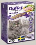 Консервы для кошек BUFFET Tetra Pak кусочки в желе с индейкой
