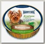 Консервы для собак Happy Dog Natur Line, паштет с ягненком и рисом