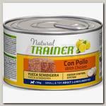 Консервы для взрослых собак мелких пород Trainer Natural Mini Adult с курицей, рисом и алоэ вера