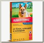 Капли для крупных собак более 25 кг Bayer GL Адвантикс 400С, 4 пипетки