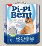 Наполнитель для кошачьего туалета Pi-Pi Bent DeLuxe Clean Cotton, Комкующийся, коробка