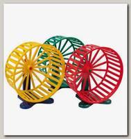 Колесо для грызунов Дарэлл D9см, с подставкой, (пластик)
