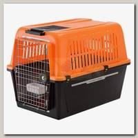 Контейнер для средних собак Ferplast Atlas 50 Reflex со светоотражающими элементами, 32*29*47 см