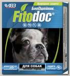 Ошейник для собак мелких пород АВЗ Фитодок репеллентный био 35 см, защита от блох до 3-х месяцев, от клещей до 5 недель