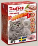 Консервы для кошек BUFFET Tetra Pak кусочки в желе мясной микс
