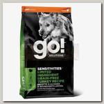 Беззерновой корм для щенков и собак GO! SENSITIVITIES с чувствительным пищеварением с Индейкой