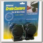 Колеса для клеток для животных MidWest Universal Crate Caster универсальные 2 шт.