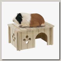 Домик для морских свинок Ferplast Sin 4645, деревянный