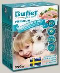 Консервы для котят BUFFET Tetra Pak кусочки в желе с индейкой