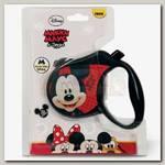 Поводок-рулетка для собак до 20 кг Triol Disney Mickey размер M