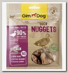 Лакомство для собак GimDog наггетсы утиные