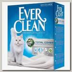 Наполнитель для кошачьего туалета Ever Clean Total Cover с микрогранулами двойного действия