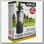 Турбо фильтр для аквариума Aquael 500 тройной очистки произв. до 500л\час, 150л/16