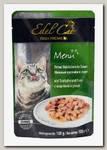 Консервы для кошек Edel Cat Нежные кусочки индюшка и утка в соусе (пауч)
