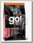 Корм для собак всех возрастов Go! Solutions Carnivore Grain-Free Salmon + Cod Recipe DF Беззерновой с Лососем и Треской
