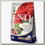 Сухой беззерновой корм для собак Farmina N&D Quinoa Adult Digestion поддержка пищеварения, Ягненок с киноа