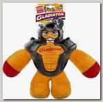 Игрушка для собак GiGwi Gladiator Гладиатор в резиновом шлеме