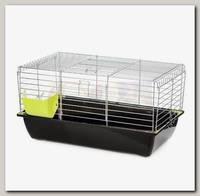 Клетка для кроликов INTER-ZOO RABBIT 70 ZINC FOLDING, складной борт 71*40*35 см