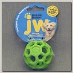Игрушка для собак JW, Hol-ee Roller Dog Toys, Мяч сетчатый, каучук