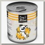 Консервы для собак Dog`s Menu Шницель куриный
