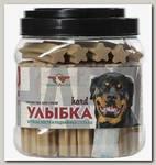 Лакомство для собак Green Qzin Улыбка Hard № 20 Мягкие жевательные палочки для крепких костей и суставов, 55 шт