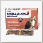 Антигельминтик для котят и молодых кошек Elanco Мильбемакс, 2 таб. (1 таб/1-2 кг)