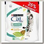 Корм для стерилизованных кошек и кастрированных котов Cat Chow Special Care Adult Sterilised с домашней птицей