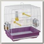 Клетка для канареек и маленьких экзотических птиц Ferplast Rekord 1, цветная