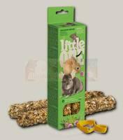 Палочки для морских свинок, кроликов и шиншилл Little One с луговыми травами