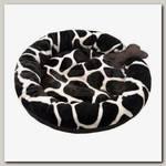 Лежанка для собак PerseiLine с косточкой, 45*45*12 см