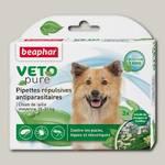 Биокапли для собак средних пород Beaphar Veto pure от паразитов