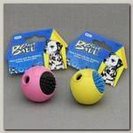 Игрушка для собак JW, Grass Ball, Мячик с ежиком, каучук