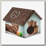 Дом для животных PerseiLine, Дизайн Шоколадные котята
