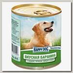Консервы для собак Happy Dog Natur Line Вкусная баранина с сердцем, печенью, рубцом и рисом