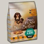 Сухой корм для собак мелких и карликовых пород Pro Plan Duo Delice Adult Small, курица с рисом