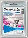 Капли для собак Merial Фронтлайн СПОТ-ОН L от 20 до 40 кг, 1пипетка