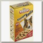 Лакомство для взрослых собак Dr. Alder's Knusper Rolls Хрустящее печенье с мясной начинкой