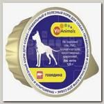 Консервы для собак VitAnimals Говядина (ламистер)