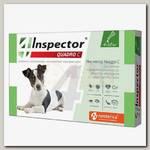 Капли для собак от 4 до 10 кг Inspector Quadro С от внешних и внутренних паразитов
