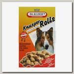Лакомство для собак Dr. Alder's Knusper Rolls бисквиты с мясной начинкой