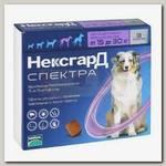 Таблетки жевательные для собак 15-30 кг Merial Фронтлайн НексгарД Спектра №3