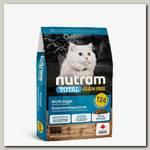 Сухой беззерновой корм для кошек Nutram GF Salmon & Trout Cat Food питание из из мяса лосося и форели