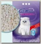 Наполнитель для кошачьего туалета Снежок цеолайт (синий)