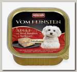 Консервы для собак Animonda Vom Feinsten Adult меню для гурманов с говядиной, бананом и абрикосами