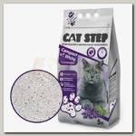 Наполнитель для кошачьего туалета Cat Step Compact White Lavеnder Комкующийся, минеральный